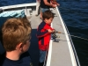 family deep sea fishing